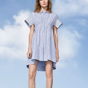 Victoria Beckham for Target Striped Button Up Dres